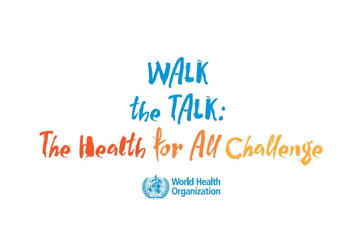 "test Twitter Media - ""Walk the Talk: The Health for All Challenge"" free walk/run event by WHO, as part of celebrations of the World Health Organization's 70th anniversary. More info: https://t.co/pfp7C5VRPj #healthpromotion #healthforall #walkthetalk #WHA71 https://t.co/31RI8LhLpk"