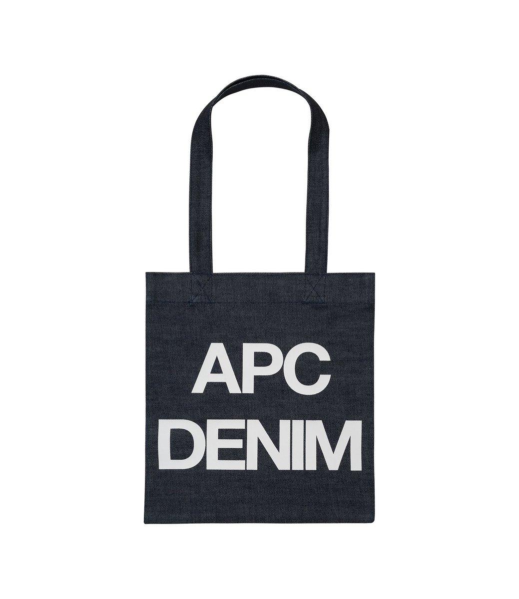 #APC 2018年 春夏コレクション A.P.C. Denim バッグ https://t.co/mIDo35eo8j https://t.co/k8LSCo6R5t