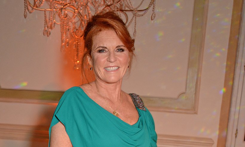 Sarah, Duchess of York dazzles in mermaid-style evening gown ?‍??