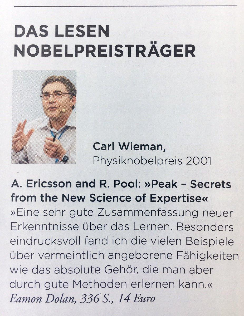 test Twitter Media - Das liest #Nobelpreisträger Carl Wieman! Nette Serie in @zeitwissen Aufgezeichnet von @ardenthistorian auf der 67. Lindauer Nobelpreisträgertagung #LINO17 https://t.co/VIq336HHTC