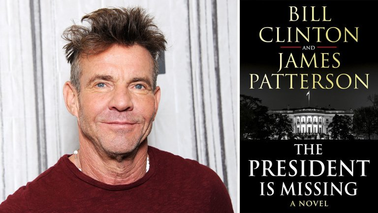 Exclusive: Bill Clinton-James Patterson thriller nabs Dennis Quaid for audiobook