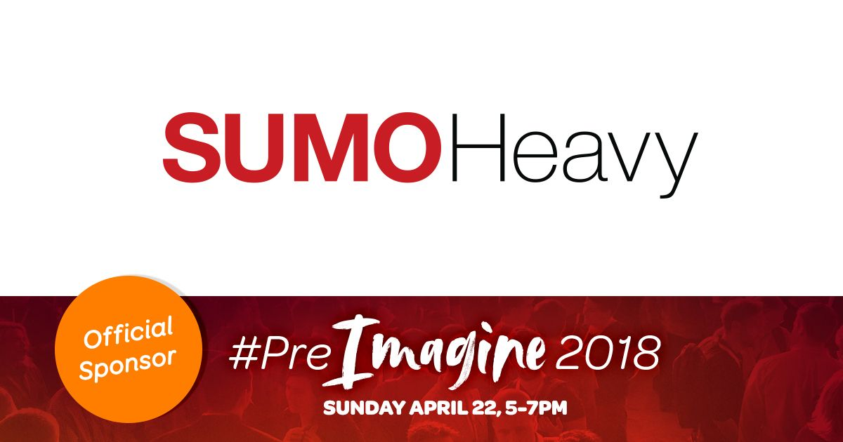 ShipperHQ: Hey @SumoHeavy! Hope you're ready for #PreImagine. Thanks for your support, we can't wait to see you in 3 days. https://t.co/zkmb6q4Ap9