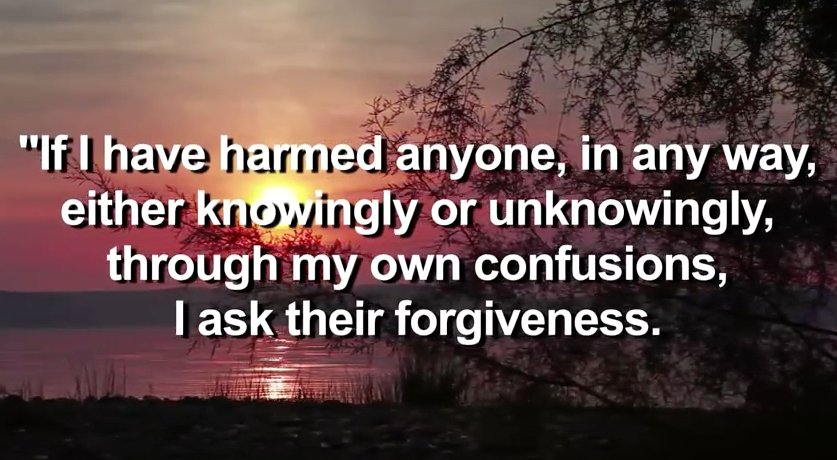 The #Buddhist #Forgiveness Prayer offers us room for our imperfections and missteps. https://t.co/ryjc0xUqLQ https://t.co/wz1yNK8CtR