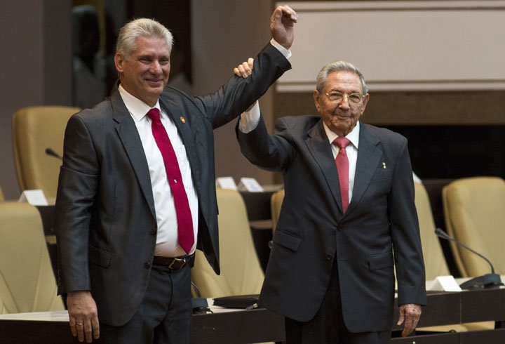 @BroadcastImagem: Cuba confirma Miguel Díaz-Canel como novo presidente, no lugar de Raúl Castro. Irene Perez/AP