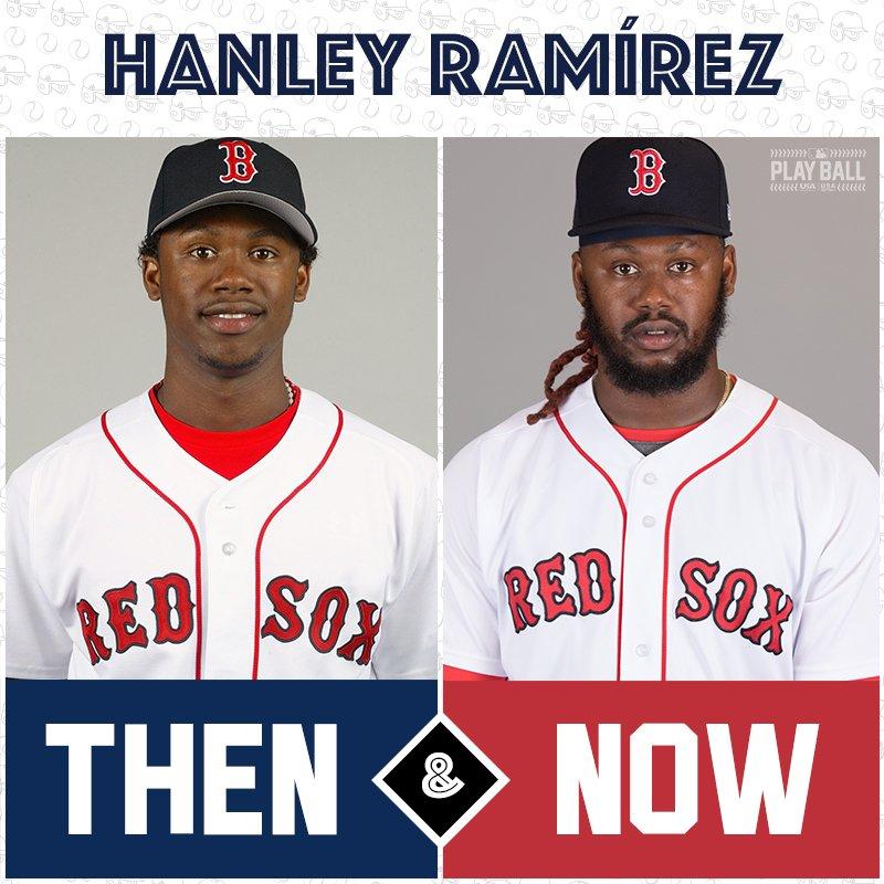 Once a @RedSox prospect, now a @RedSox vet ... it's @HanleyRamirez! #TBT https://t.co/xlznEZDIu4
