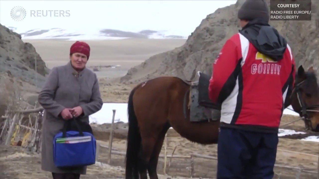 Kyrgyzstan medic makes house calls on horseback https://t.co/GwzSIVAJl0