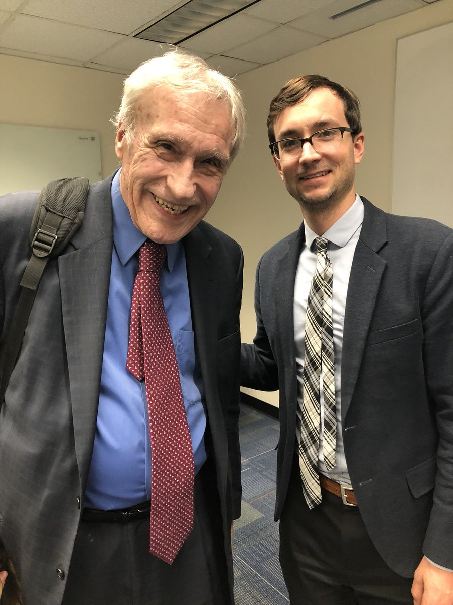 test Twitter Media - Francois Boller and Nicolas Puente at Francois colloquium at George Washington University.  Francois hired Niki to start a neuropsychology service at GWU. https://t.co/7pJEY1cmAD