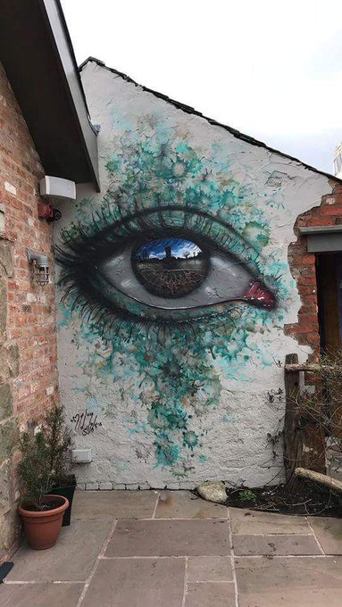 RT @Artist_Artlover: Amazing #StreetArt by My Dog Sighs https://t.co/iZf7Enz7lE