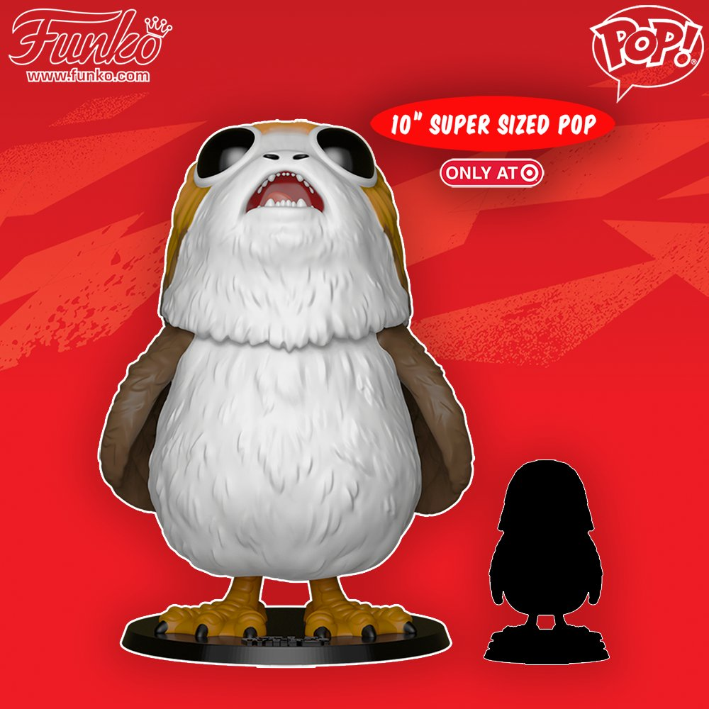RT & follow @OriginalFunko for the chance to win a @Target exclusive 10-inch Porg Pop! https://t.co/AvD3xtM3PK