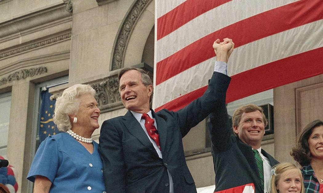 George H.W. Bush's message to fans will leave you in a puddle: