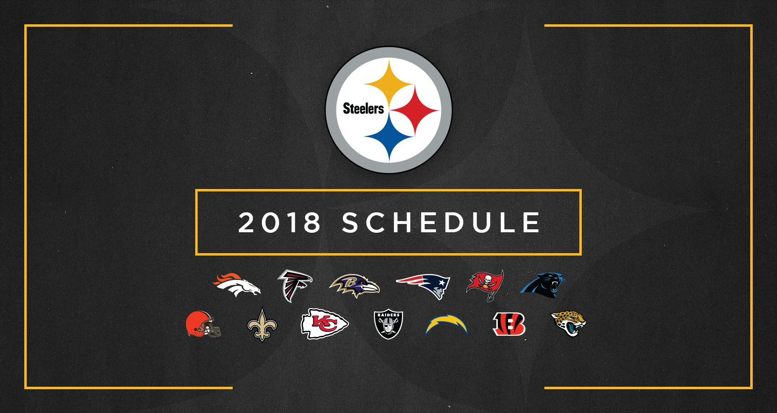 Our 2018 regular season schedule has been announced. #ScheduleRelease2018  SCHEDULE: https://t.co/D3K1FV353T https://t.co/ZAk2eMgpM3