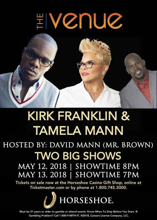 #Ad: Mother's Day Concert with Kirk Franklin  and Tamela Mann @the Horseshoe Casino Venue   https://t.co/8yphLWAIhi https://t.co/jRnMmdCFwA