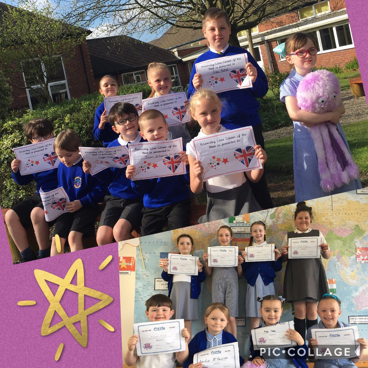 Well done to our stars this week!  #respect #challenge https://t.co/q4YS2fL9P6