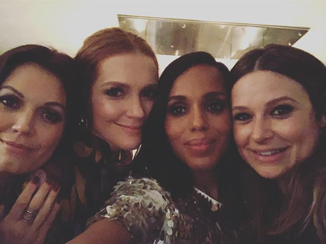 I love my #Scandal Sisters. #Scandal family is real. #TheFinalScandal https://t.co/ISdZUYAmZl https://t.co/CKINRfjvnh