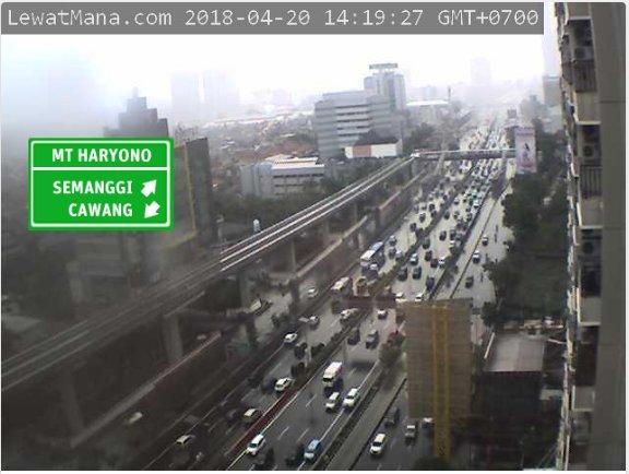 14:20 Tol Dalam Kota dr Cawang arah Semanggi macet, tersendat di Exit Tegal Parang & Polda.  #JKTT (via H1) https://t.co/CHXE239Fl5