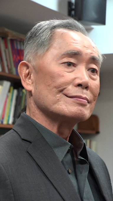Happy birthday George Takei 81 today.