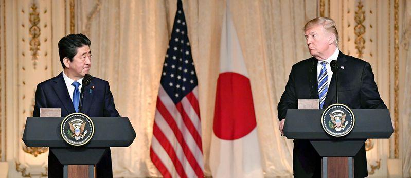 Abe, Trump agree on new framework for trade talks