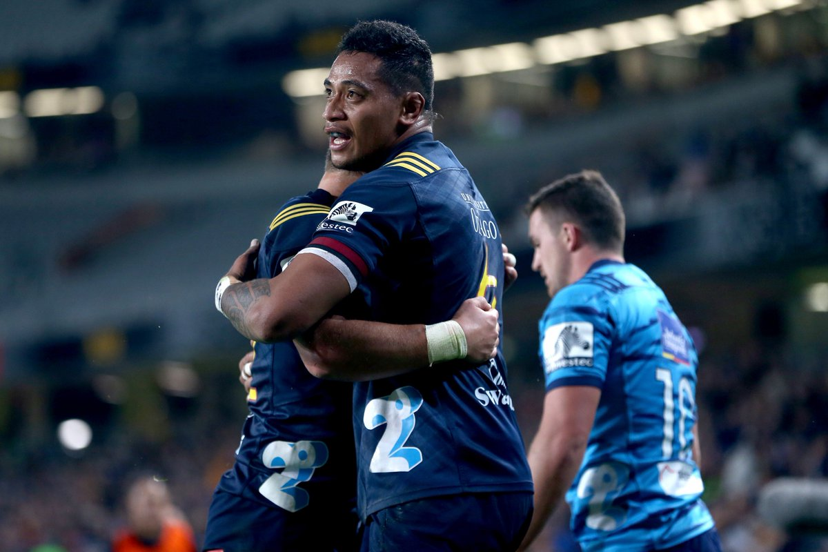 test Twitter Media - HIGHLIGHTS: @BluesRugbyTeam 16-34 @Highlanders. Shannon Frizell scores a hat-trick in Auckland. https://t.co/sQgdMMW9Zu https://t.co/ZhnoW10hn8
