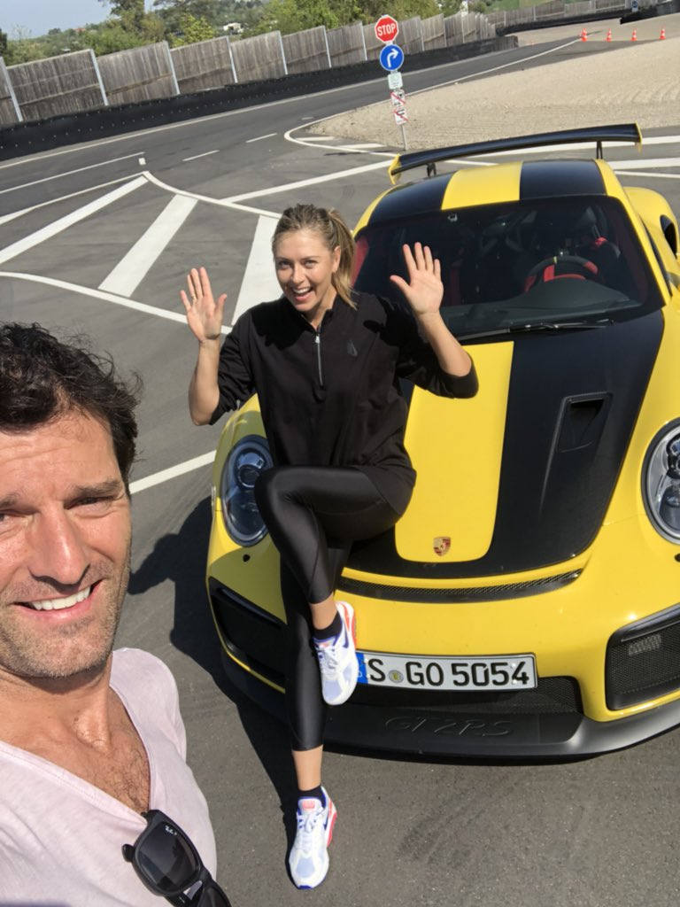 One way to battlejet lag. A full throttle lap with Mark Webber in a @porsche GT2RS upon arrival. No biggie ????????‍♀️???? https://t.co/pHaoND36eB