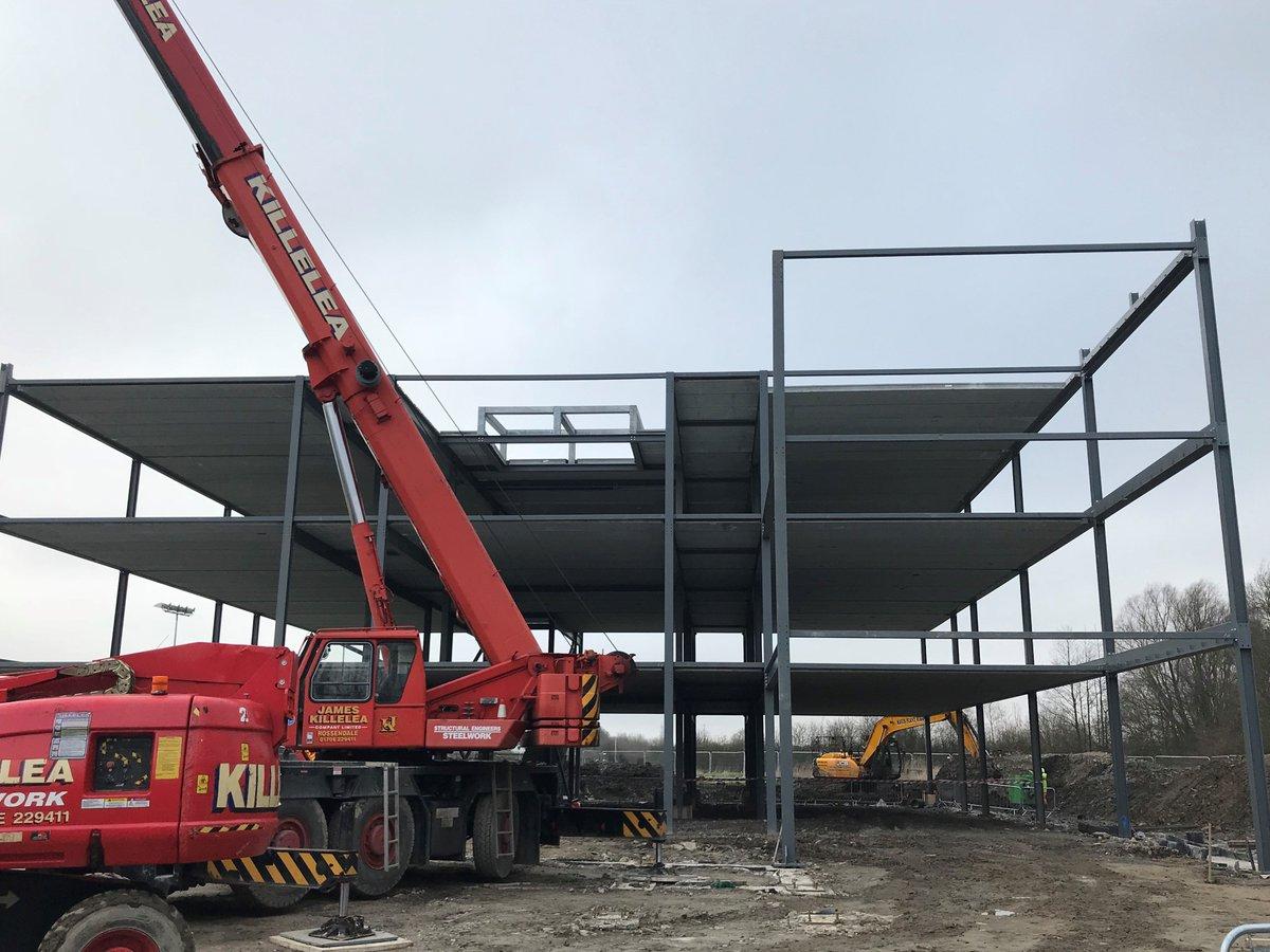 test Twitter Media - New school building taking shape! #castlebrooknewbuild https://t.co/2QtH0EMJSf