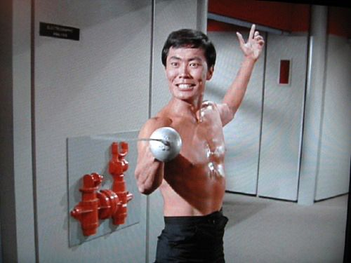 And a very happy TOSS Birthday to Mr Sulu, George Takei!