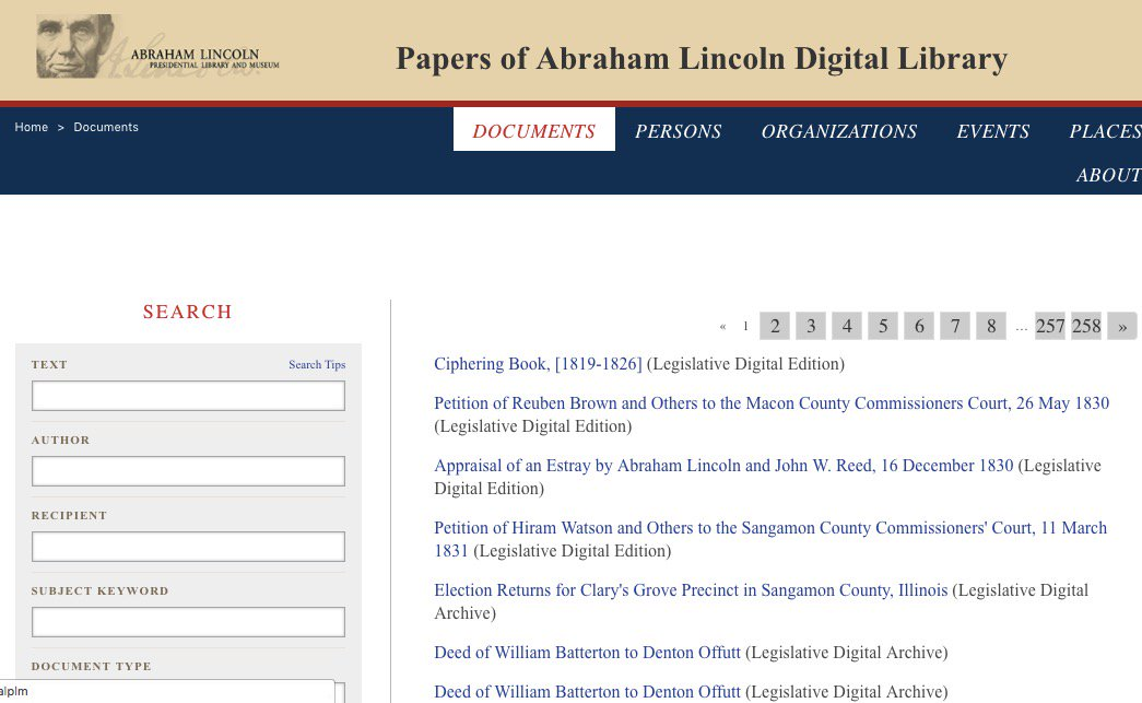 test Twitter Media - \New Online: Abraham Lincoln Presidential Library Publishes Digital #Archive of Papers From Lincoln's First 33 Years https://t.co/gKpiSUs6oh https://t.co/fyp4Eh4FuC
