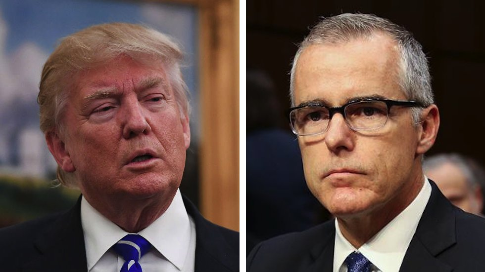 #BREAKING: McCabe to sue Trump admin for defamation and wrongful termination https://t.co/ImGkjpxu3T https://t.co/gk02flD2Ll