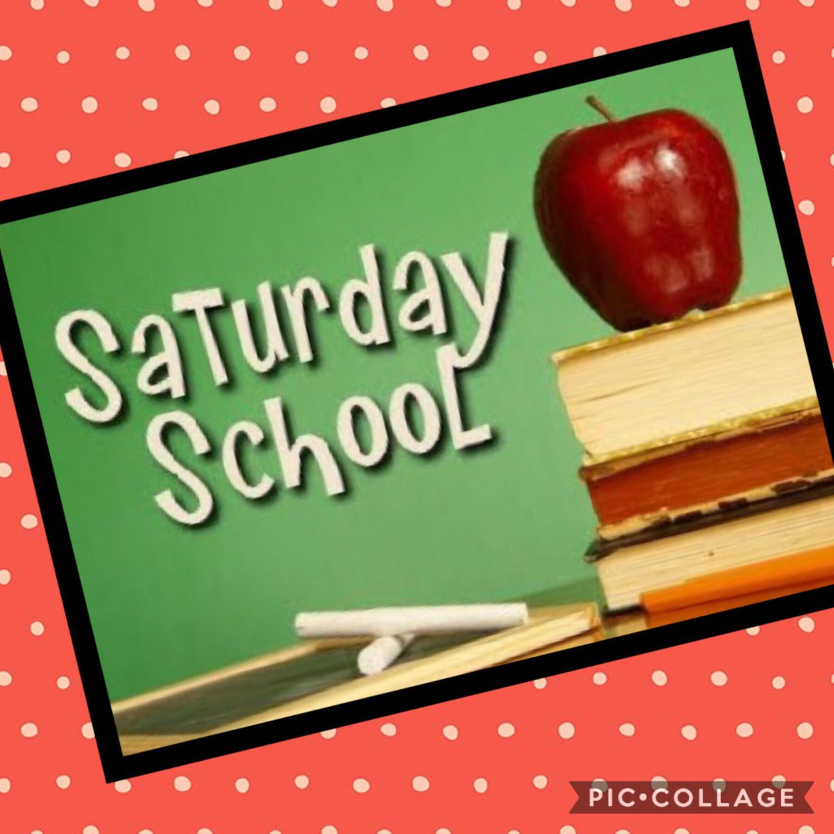 #Y6  Saturday School starts tomorrow! Be at the main office at 8:50am.  #SATs #Revision https://t.co/IIYDsHiN7G