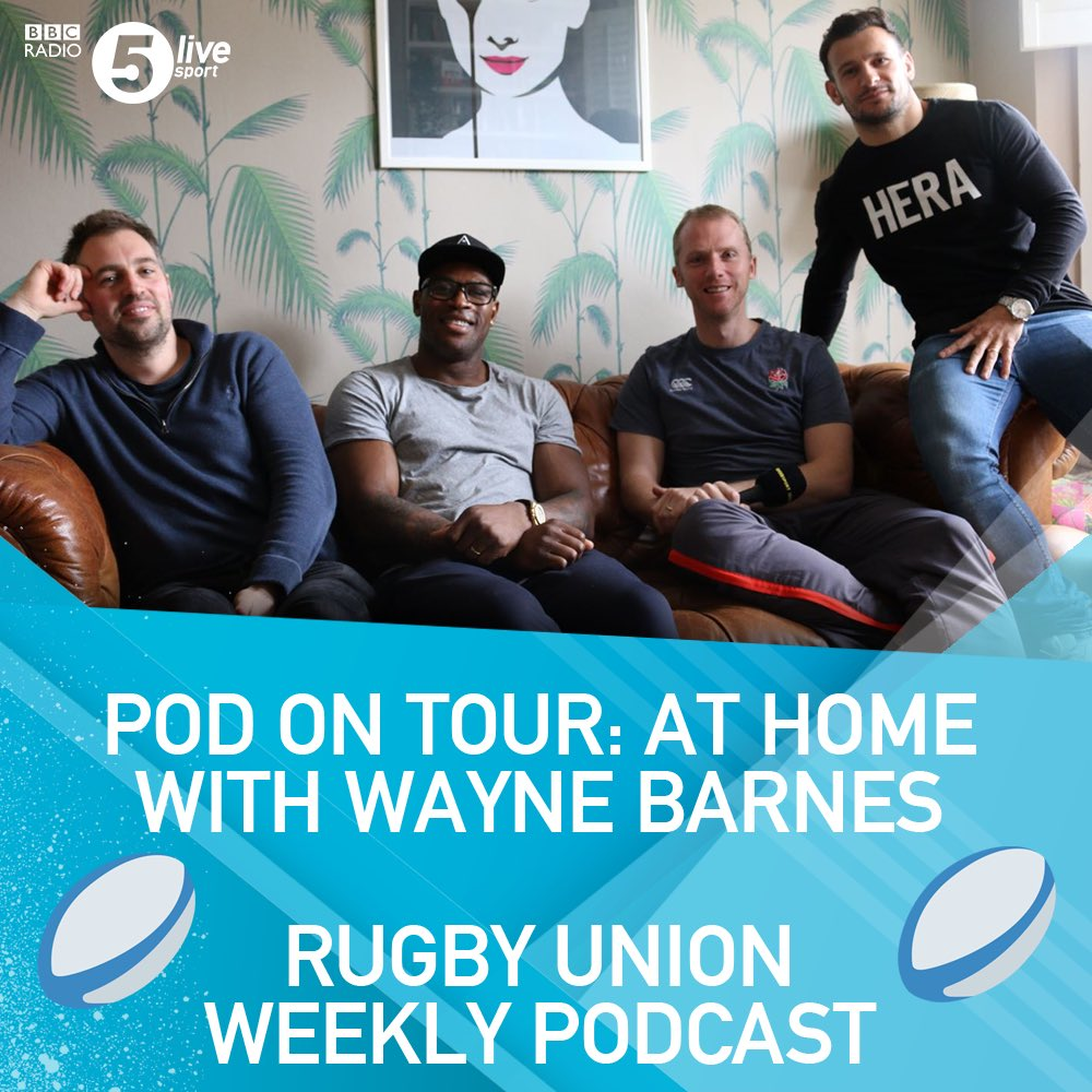 test Twitter Media - ICYMI... Rugby Union Weekly did a podcast with international referee Wayne Barnes this week. It was really interesting. Here's the link👇 https://t.co/VR7YxURPGJ https://t.co/HPkZhdurJE