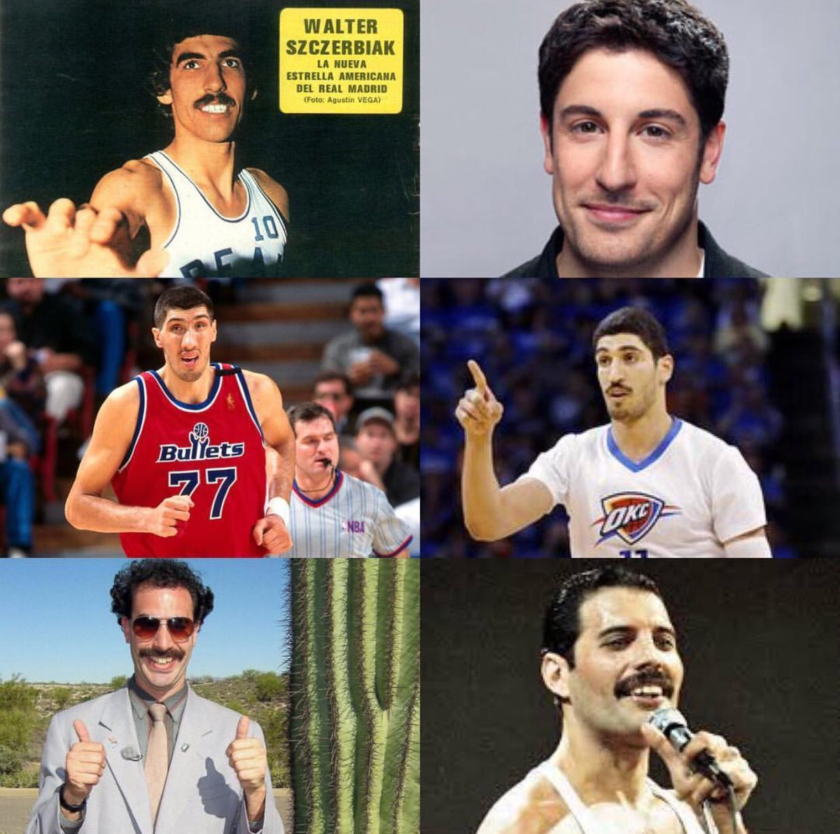 RT @Enes_Kanter: My long lost brothers 😂  #NationalLookAlikeDay   (Pick your favorite) 🤔 https://t.co/zBSnoOefB7