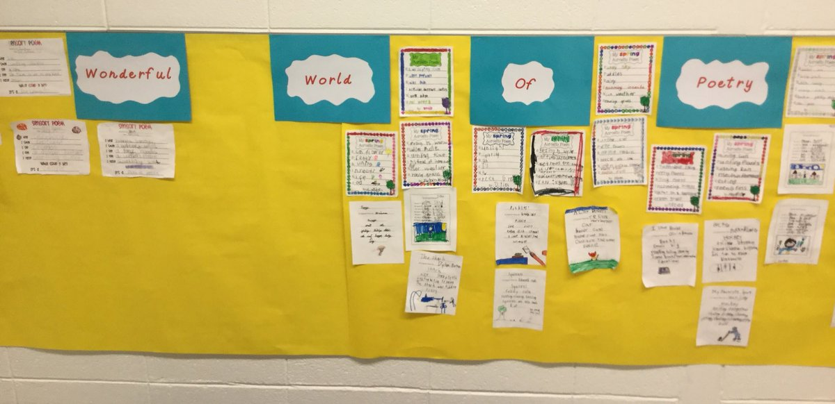 test Twitter Media - Our poetry wall keeps growing! #d30learns https://t.co/oePp8E2Z4q