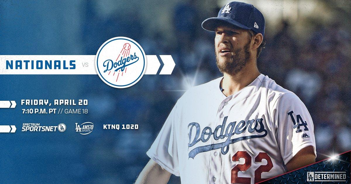 A battle of the aces. #Dodgers  ��: https://t.co/vbLJVwxEYV https://t.co/ZnKYrN7iWn