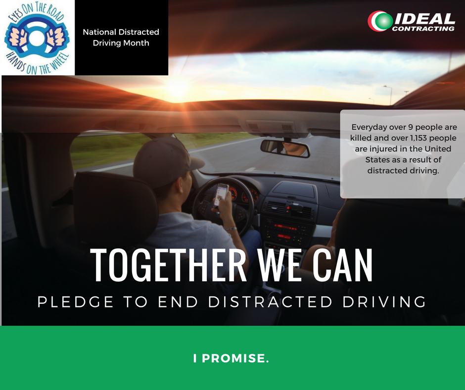 test Twitter Media - Everyday over nine people are killed and over 1,153 people are injured in the United States as a result of distracted driving. Have you taken the pledge? Take the pledge to end distracted driving today! Together We Can. #IPromise #Pledge #EndDistractedDriving https://t.co/DvlbUTI7Jp