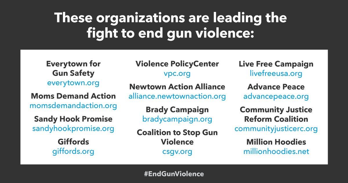 #EndGunViolence
