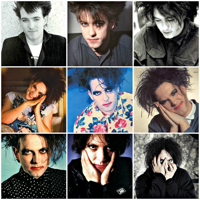 A very happy birthday to Robert Smith of born 21st April 1959