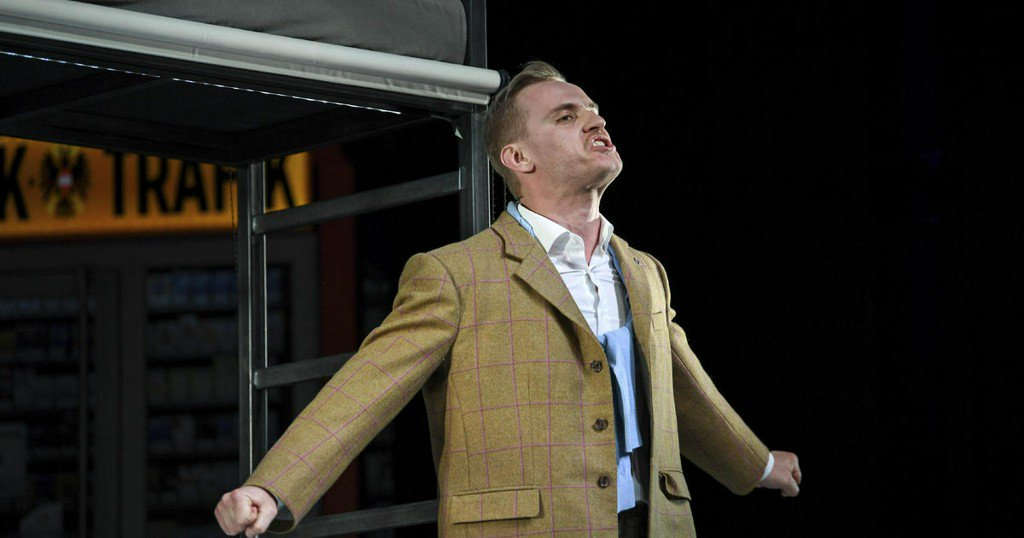 Theater guests who wear swastikas for Hitler play get free admission