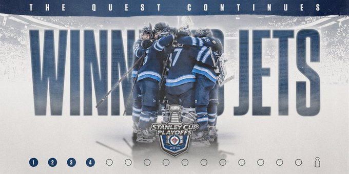 Big win on home ice and that sets the path for the @NHLJets' quest for the Cup. #StanleyCup https://t.co/Tp7GGFJsTz