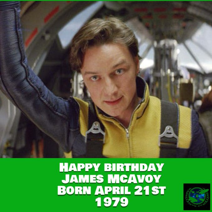 Happy birthday James McAvoy Born April 21st 1979