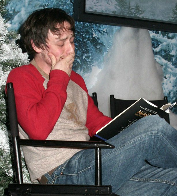 Happy 38th Birthday to James McAvoy. The most perfect Mr. Tumnus and a REAL NARNIAN.