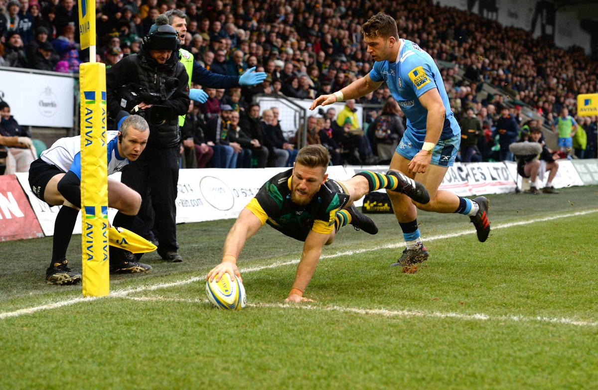 test Twitter Media - Northampton Saints have confirmed that centre Rob Horne has been forced to retire from rugby due to an injury sustained against Leicester Tigers. We're thinking of you, Rob. https://t.co/bKFxqM0LEK