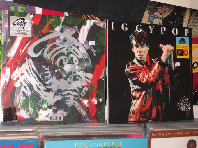 Happy Birthday to Robert Smith of the Cure & Iggy Pop