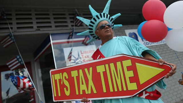 Today would be a good day for  tax day