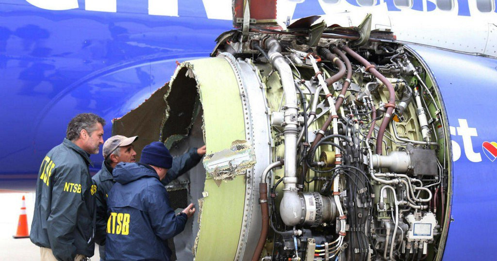 FAA orders inspections of more engines like one in deadly Southwest incident https://t.co/77QuYfgYIp https://t.co/pqaT6ephbX