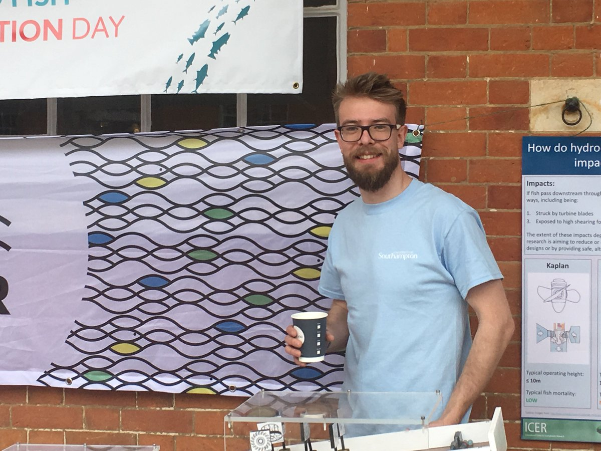 test Twitter Media - ICER researchers and @CDTSIS are here all day at Mottisfont talking about fish migration and the @AMBERtools barrier app! Be sure to come and see us and have a go on our fish passage marble run! #happyfish #letitflow #WorldFishMigrationDay https://t.co/WDlV2OWSR7