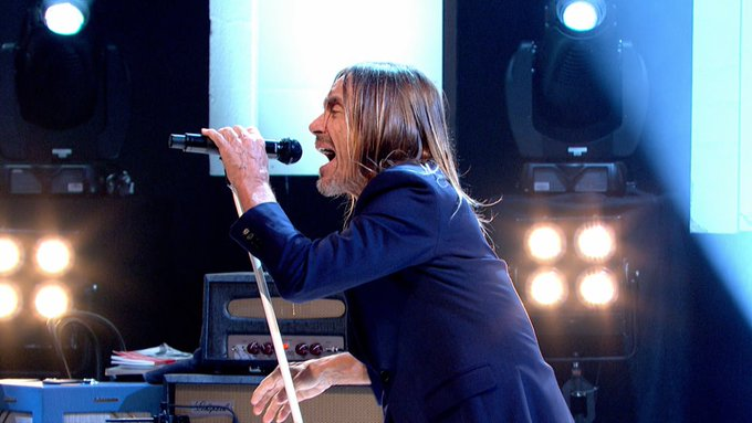 Happy Birthday Iggy Pop. Iggy Pop - Lust For Life  - Later with Jools Holland