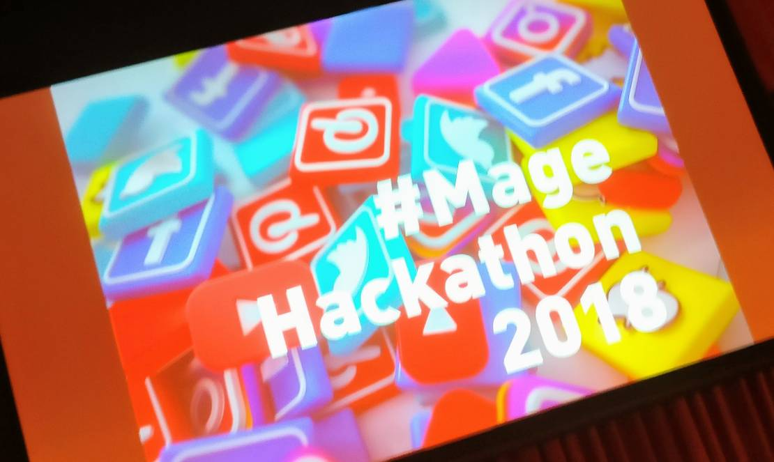 magespecialist: #hackaton running at #MagentoImagine 2018 https://t.co/AKYIExohp2