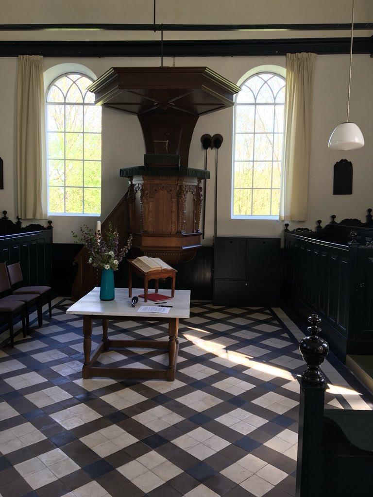 test Twitter Media - En de dag ook mooi beëindigd: kerk in #Vierhuizen met mooi gerestaureerd exterieur & neo 19e eeuws interieur @GroningerKerken https://t.co/FTU1yEJep7