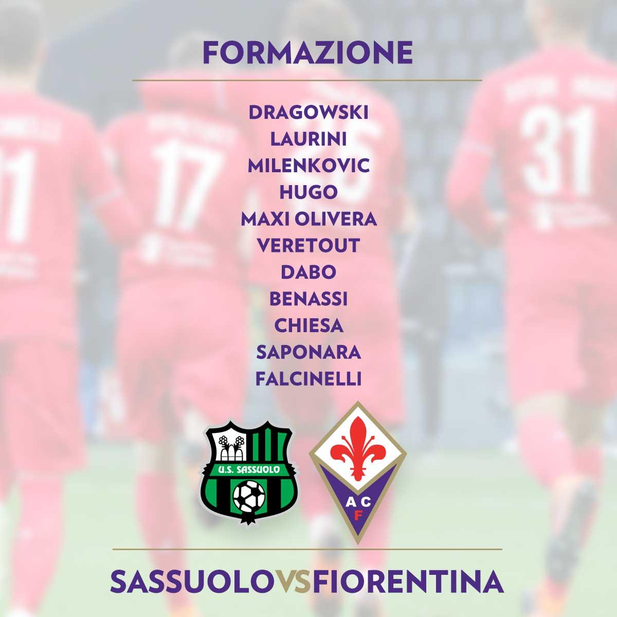 #SassuoloFiorentina