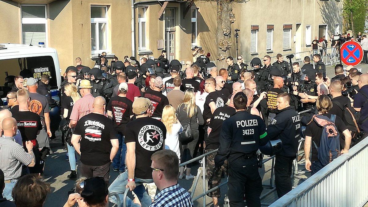 Nazitreffen in ostritz