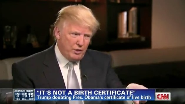 Trump proves Birtherism has long been the governing philosophy of the GOP https://t.co/i4E1PGCJvF https://t.co/YstmkL1OJB